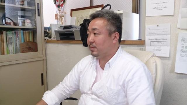 ひげの社長・梅木栄二